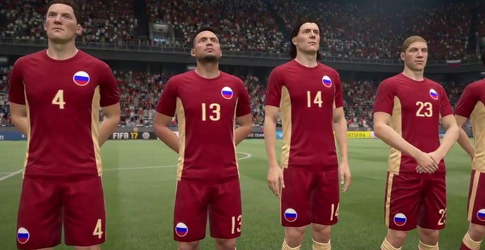 FIFA 17 самая продаваемая игра года в России