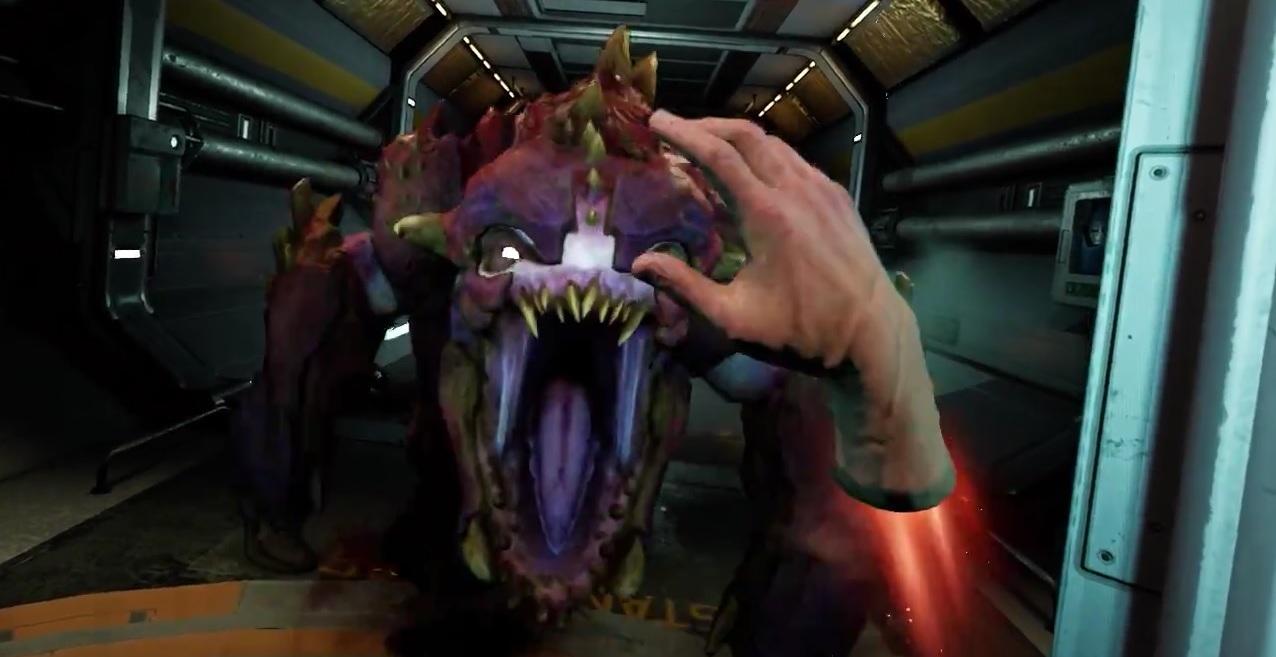 Выпущена VR-версия игры Doom