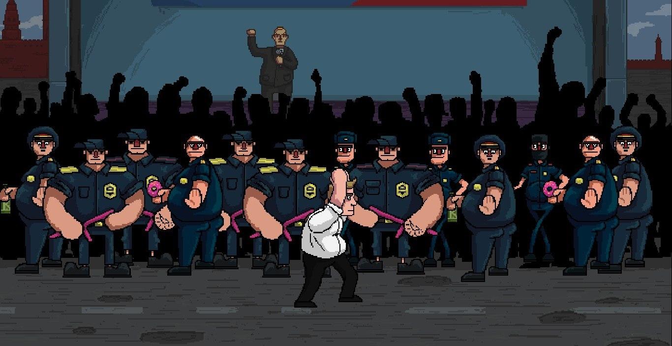 В Steam обещают запустить симулятор Навального Navalny 20!8