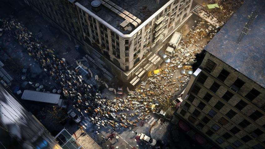 Создатели игры World War Z показали размер орды-зомби