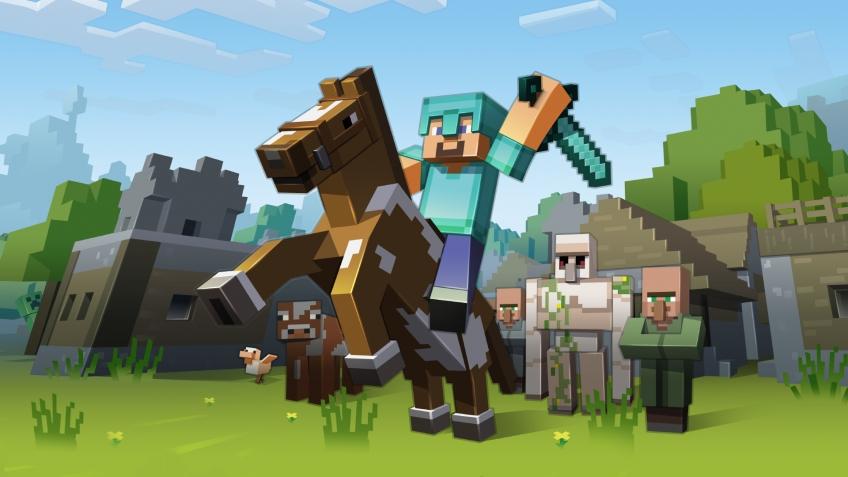 Большие продажи Minecraft