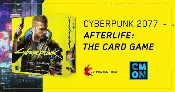 Новая карточная игра по Cyberpunk 2077