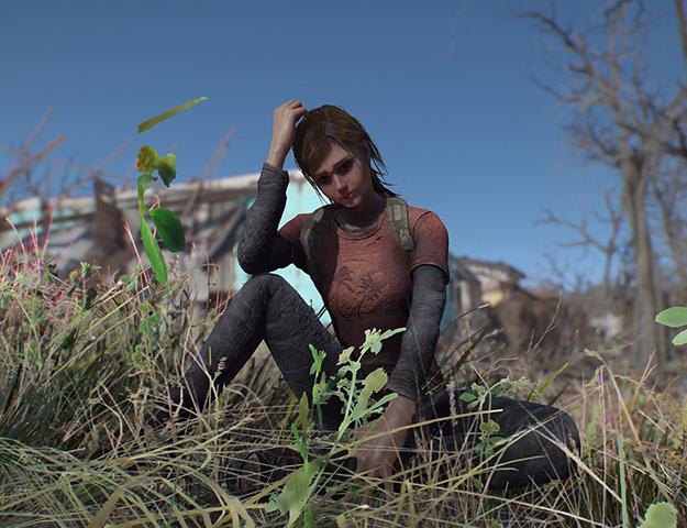 Модер развлекается в Resident Evil 2
