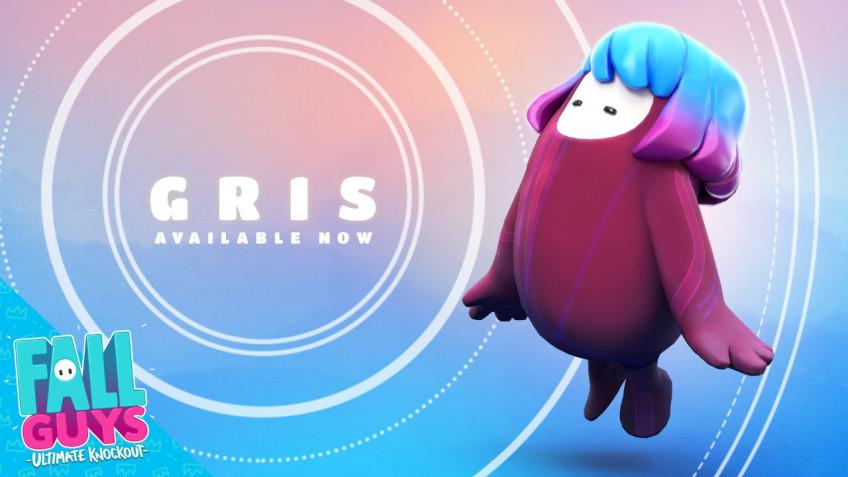 В Fall Guys добавили костюм по мотивам GRIS